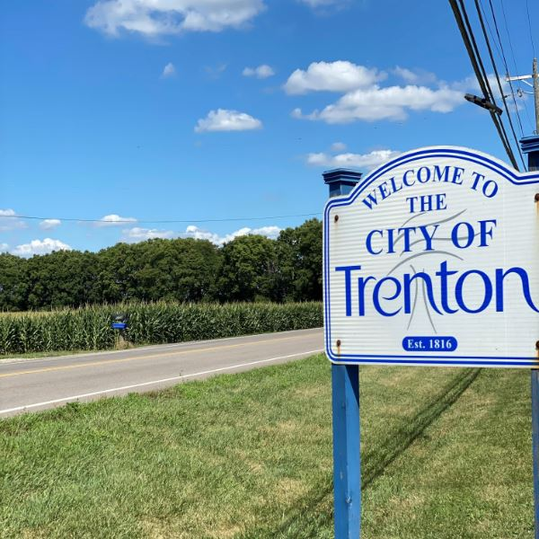 City of Trenton Sign